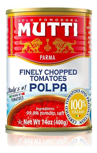 Imagem 1 de 1 de Tomate Mutti Picado Polpa Lata 400g