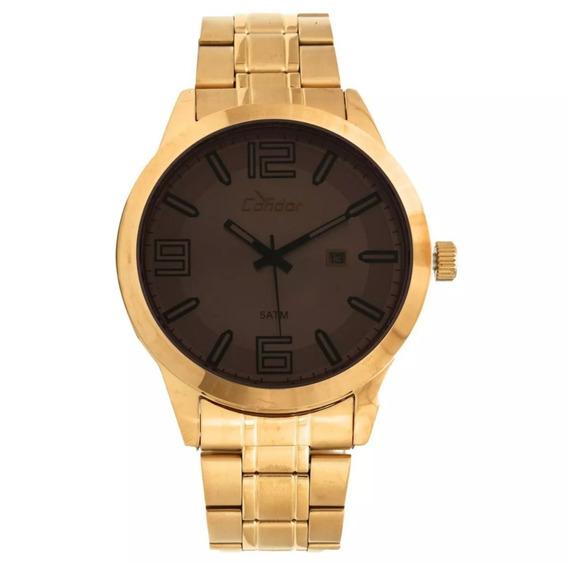 Relógio Condor Masculino Metal Dourado - Co2115xz/4c