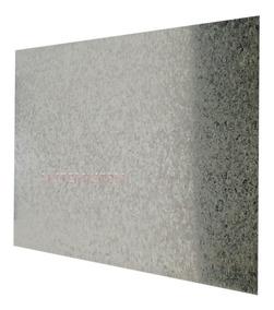 Placa De Chapa Galvanizada 50 Cm X 60 Cm P/ Quadros E Mural