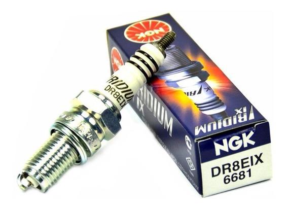 Vela Ignição Ngk Iridium Dr8eix Fazer / Lander / Tenere 250
