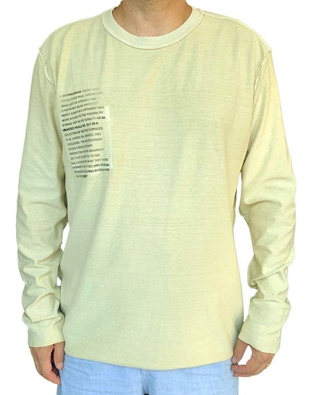 Camiseta Osklen Strong Double Composition (dupla Face)