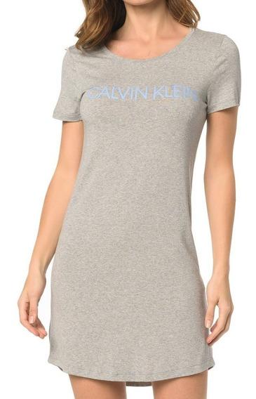Vestido Camisetão Calvin Klein Underwear Manga Curta Int10