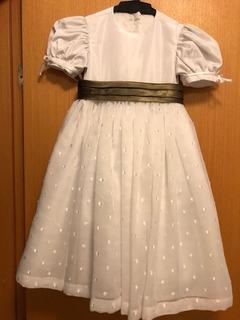 Vestido Daminha 2-3 Anos