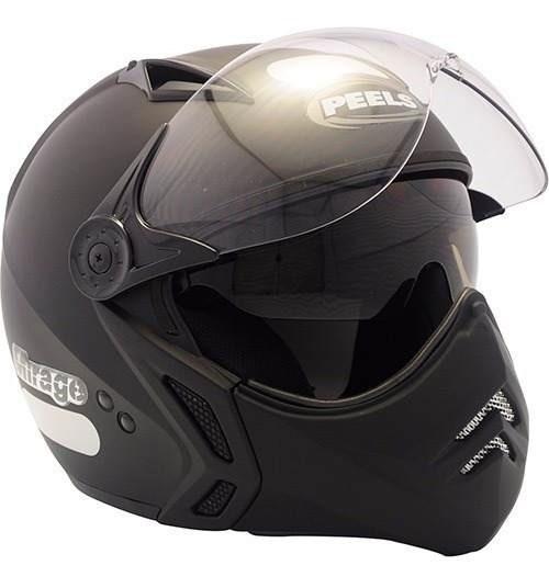 Capacete Moto Peels Mirage New Classic Preto Fosco