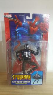 Toy Biz Marvel Spider-man Classics Black Costume Lanza Misil