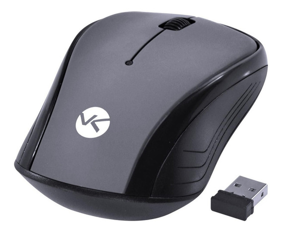Mouse Sem Fio P/ Notebook Hp Asus Samsung Acer Positivo Dell