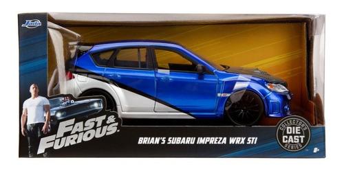 Imagem 1 de 3 de Fast And Furious Subaru Imprezawrx Sti Brian 1/24