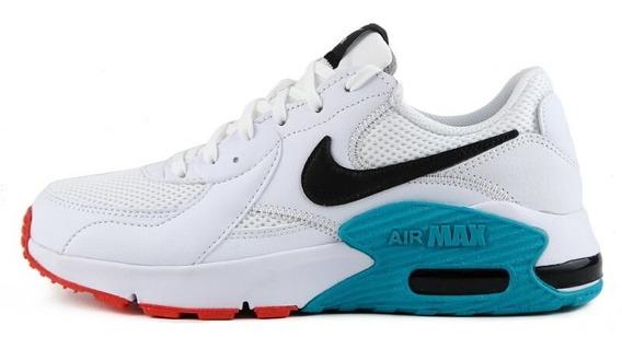 Tenis Nike Air Max Bco Excee W Bco/verde 5432102
