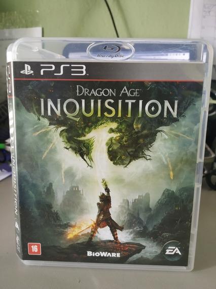 Dragon Age Inquisition Ps3 Semi Novo Mídia Física Zerada Ok