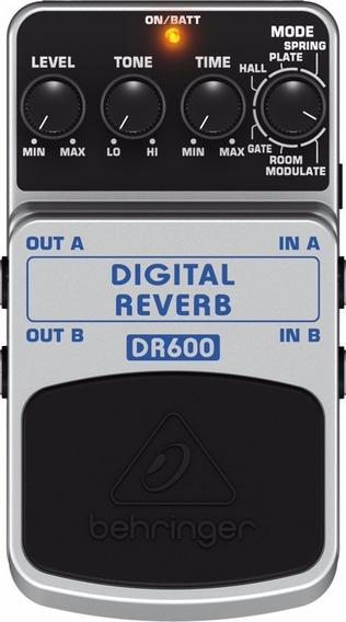Pedal Behringer - Digital Reverb - Dr 600
