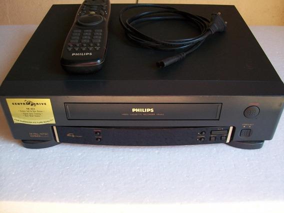 Vídeo Cassete Philips Vr453/78 (excelente, Funcionando)
