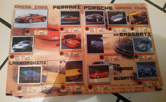Album Estampas Auto Show 2002 Semicompleto Autos