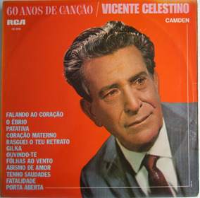 Lp Vicente Celestino 60 Anos De Canção Rca
