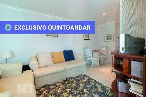 Apartamento No 14º Andar Mobiliado Com 1 Dormitório E 1 Garagem - Id: 892980445 - 280445