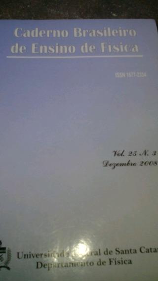 Caderno Brasileiro De Ensino De Física Volume 25 Número 3