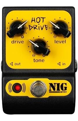Pedal De Guitarra Nig Hot Drive Phd Overdrive