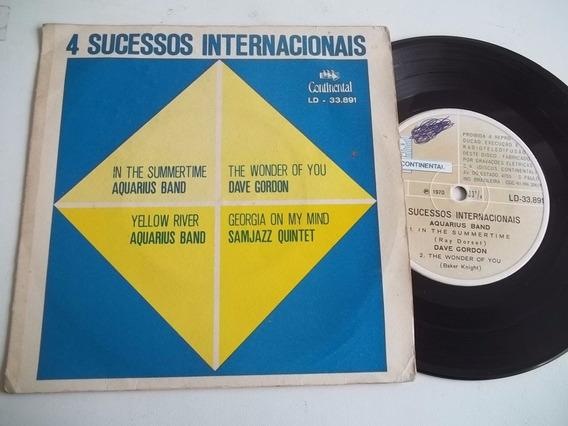 Vinil Compacto Ep 4 Sucessos Internacionais 1970 Dave Gordon