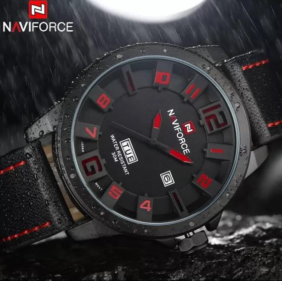 Relógio Masculino Original Importado Preto Racer De Luxo