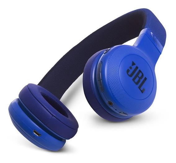 Fone De Ouvido Jbl E45bt Headphone Original Azul