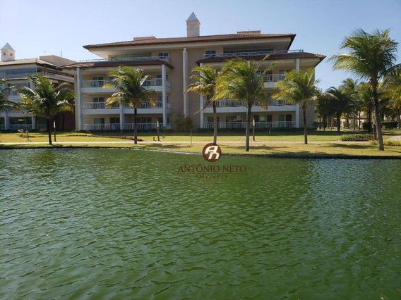 Apartamento Com 4 Dormitórios À Venda, 116 M² Por R$ 950.000 - Porto Das Dunas - Cond. Golf Ville Resort - Ap0424