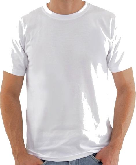 15 Camisetas Brancas Básicas Algodão Ideal Para Eventos