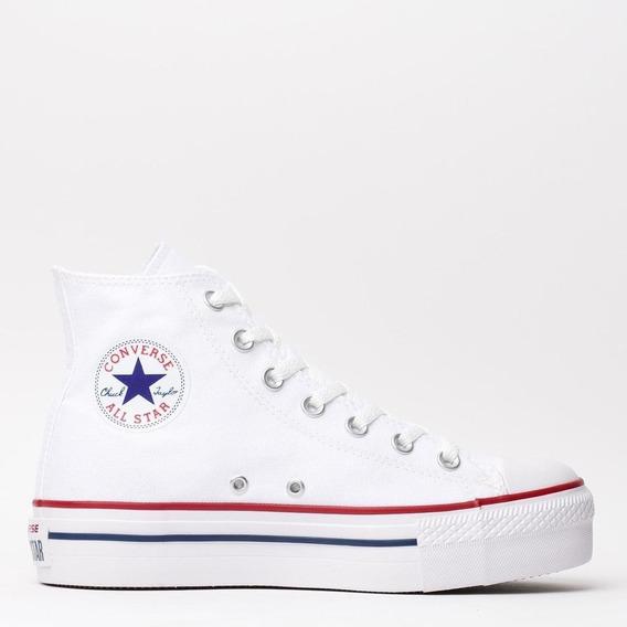 Converse Chuck Tayler All Star Plataform Hi Mujer Moda!! @