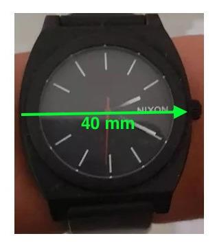 Relógio Nixon Time Teller P Pulseira Degradée Black - White