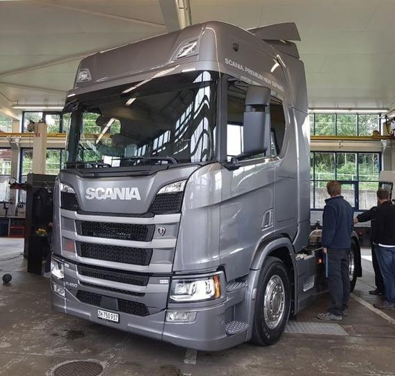 Scania R-450 A 6×2 2 Portas Diesel E5 2018