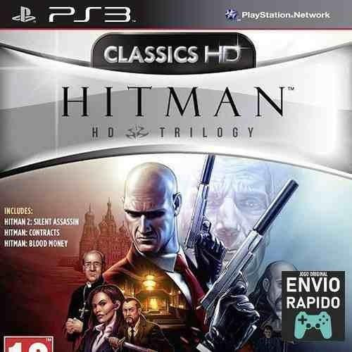 Hitman Hd Trilogy - Inclui 3 Jogos - Jogos Ps3 Original