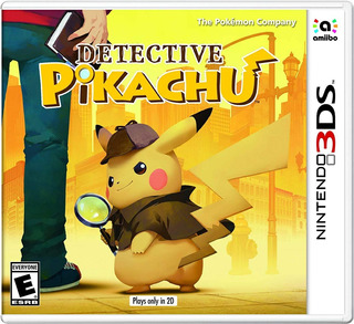 ..:: Detective Pikachu 3ds Nuevo Y Sellado ::.. En Game Cent