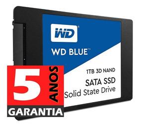 Ssd 1tb Wd Blue Sata3 Nova Versão Nand- Gar 5 Anos- N.fiscal
