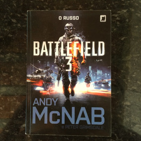Livro: Battlefield 3 - O Russo Andy Mcnab E Peter Grimsdale