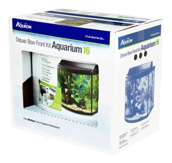 Pecera Aqueon Aqe100001848 16-bow Front Deluxe Kit For Aquar