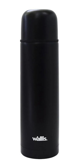 Termo Wallis Negro Mate 500 Ml