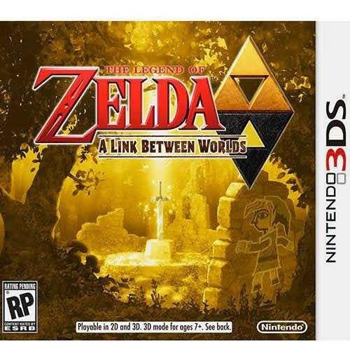 The Legend Of Zelda A Link Between Worlds - Nintendo 3ds