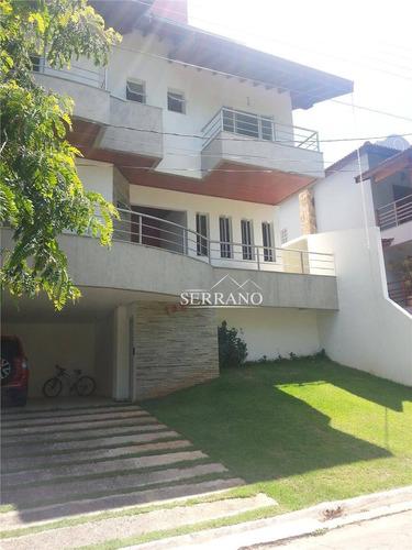 Casa Com 3 Dormitórios À Venda, 341 M² Por R$ 1.350.000,00 - Condomínio Villagio Capriccio - Louveira/sp - Ca0069