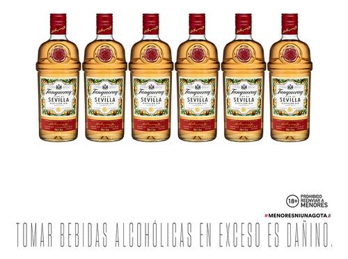 Gin Tanqueray Sevilla X 6 - 700ml C/u