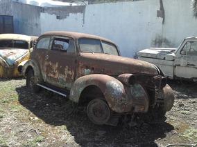 Restos De Chevrolet 1939, Completo, Chasis, Motor Y Carrocer