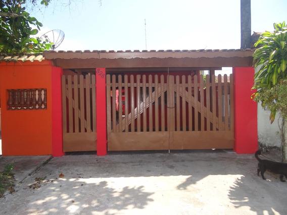 Casa À Venda Em Mongaguá Com 01 Dormitório!!! Ref:6877 D