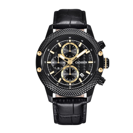 Cadisen Relógios Multi -função Masculino Relógios Lumino