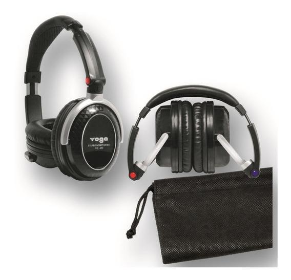 Fone Headphone Yoga Cd 250 Profissional