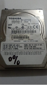 Placa Logica Hd 2,5 Toshiba 160 Gb Ref Pl 098
