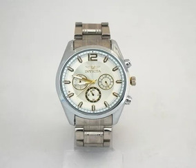 Relógio Invicta Prata - Moderno Espetacular