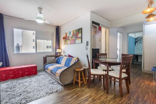 Apartamento Em República, São Paulo/sp De 45m² 2 Quartos À Venda Por R$ 390.000,00 - Ap957994