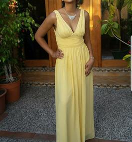 9fd4b6d73b3 Vestido De Fiesta Amarillo - Vestidos de Mujer en Mercado Libre Chile