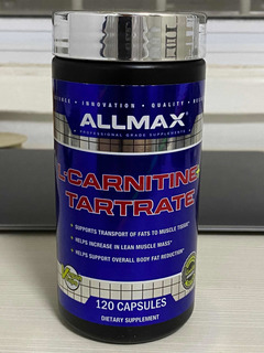 L Carnitina Tartarato Vitamina B5 120 Caps Allmax Now New Ve
