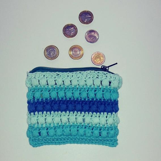 Monedero Crochet