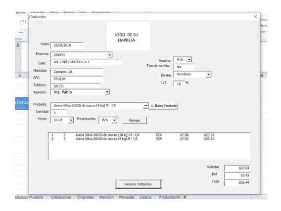Macro Excel Personalizada