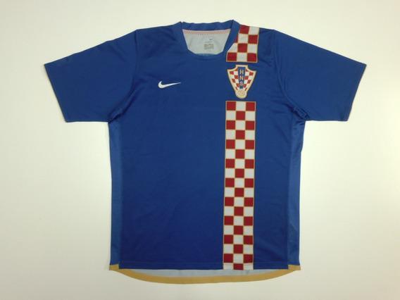Camiseta Alternativa Croacia, Mundial 2006, Talle L