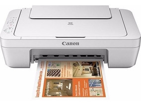 Impressora Multifuncional Canon Pixma Mg2410 Branco Bvolt Nf